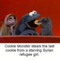 Cookie Monster does it again
