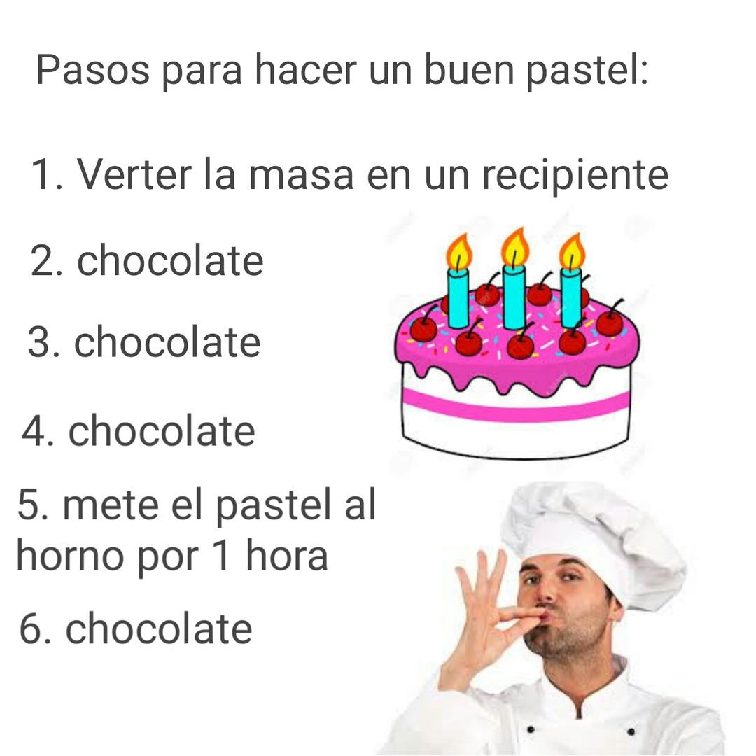 7. Chocolate - meme