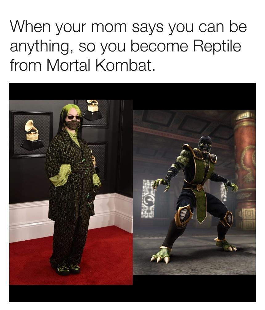 Reptile Ellish - meme