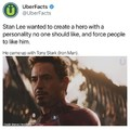 In case you didnt know tony stark is iron man