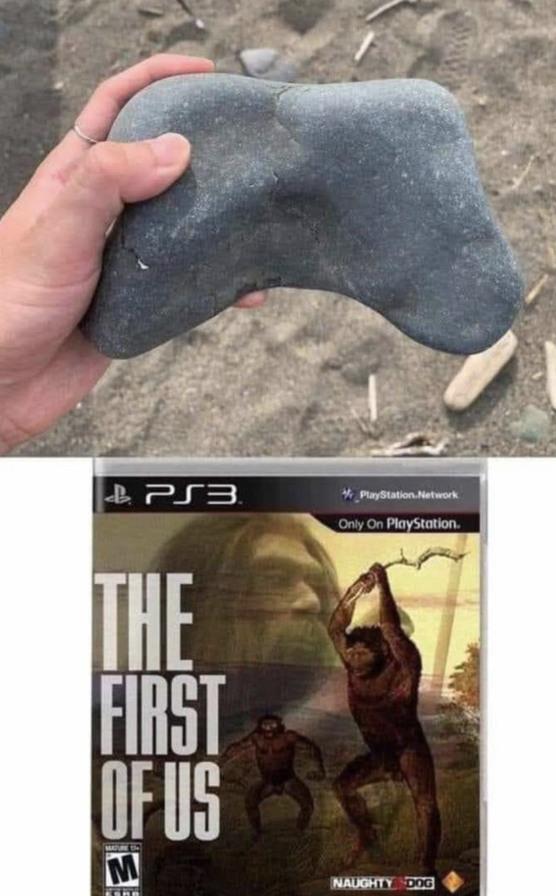 Ahora es de la Playstation - meme