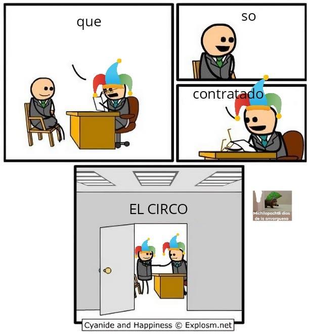 El circo - meme