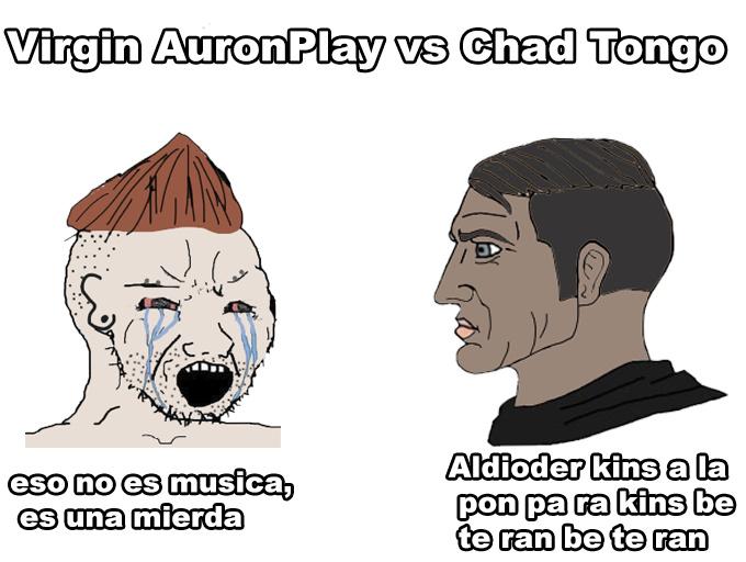 Chad color carton, no me lo puedo creer es shiny - meme