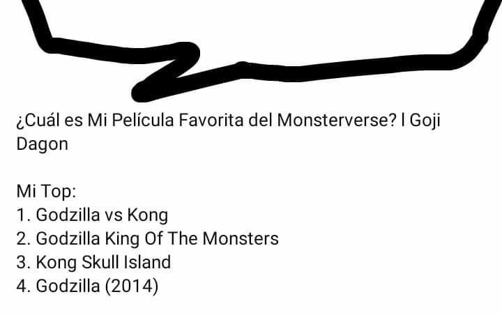 Piensa que Godzilla vs Kong es la mejor pelicula del monsterverse xDDDDDDDDDDDDDD - meme