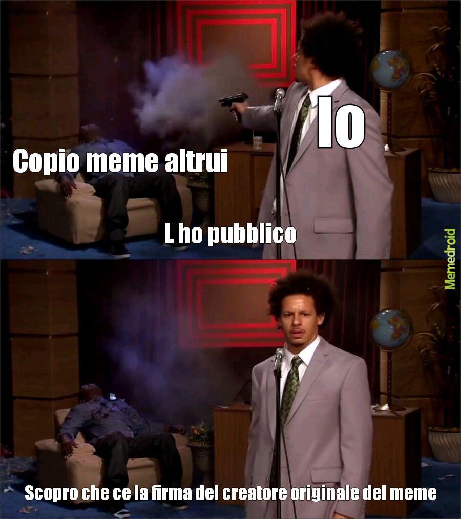 Non lo copiato - meme