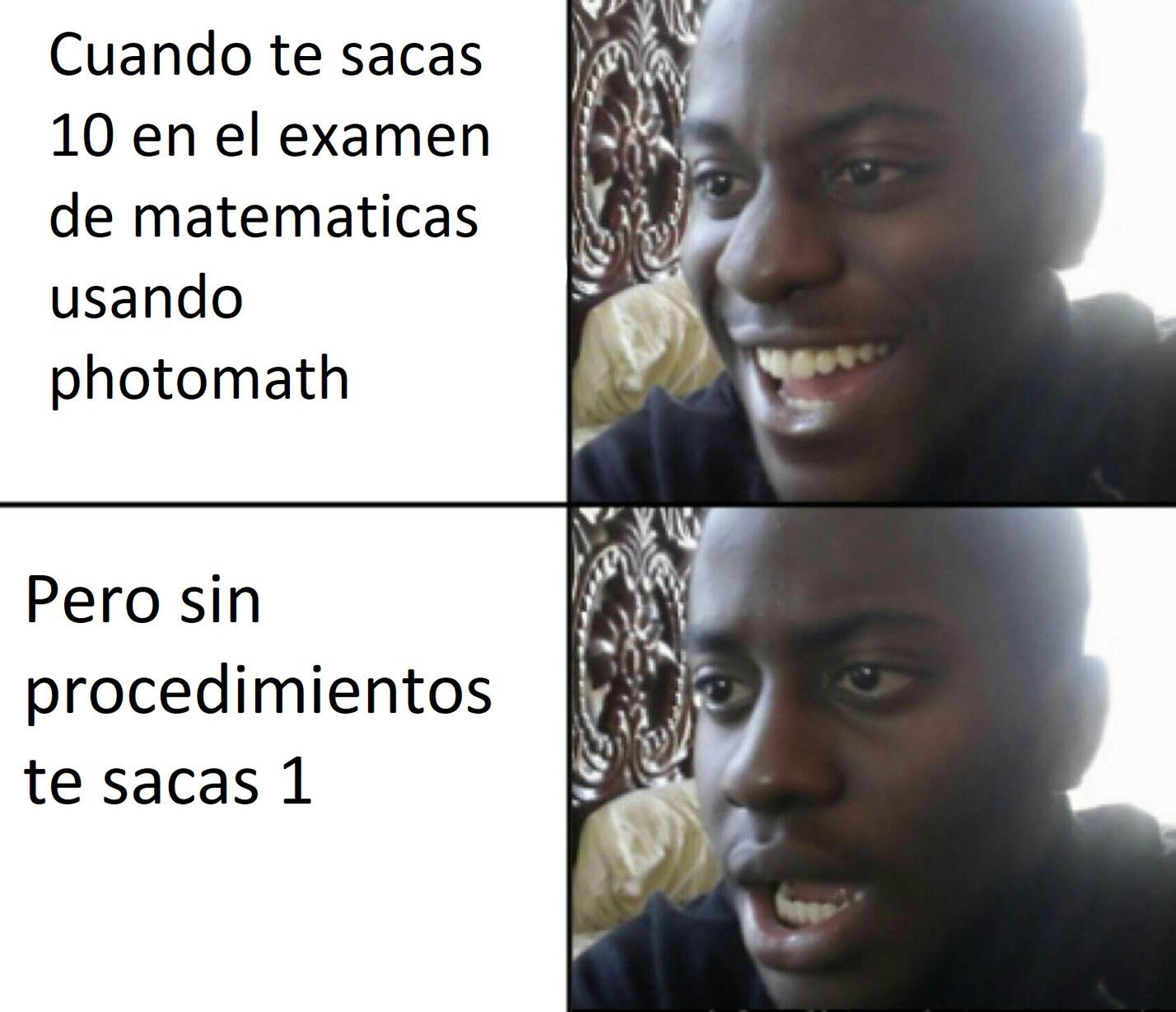 Exmen de math - meme