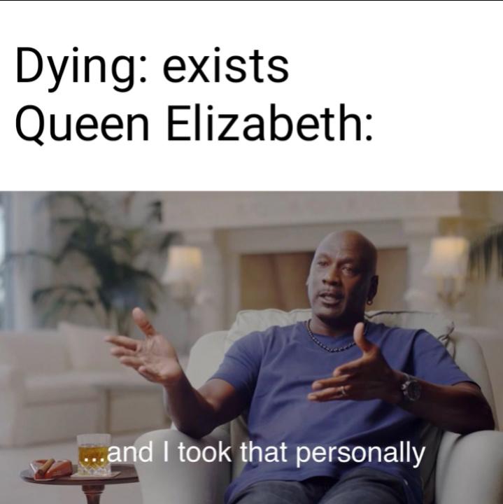 The immortal queen - meme