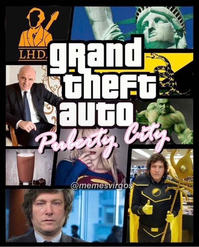 Gta puberty city - meme