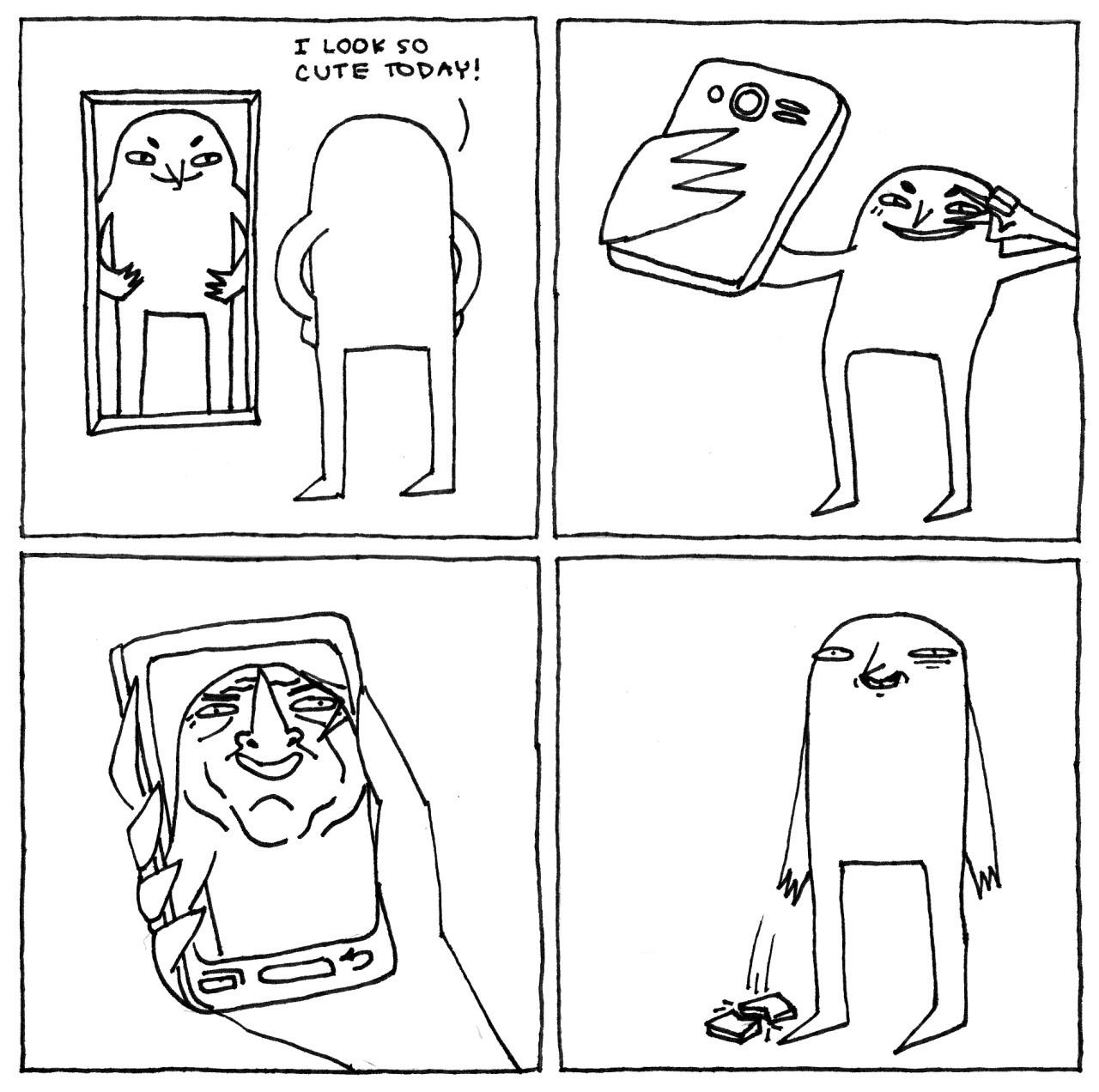 Selfie. - meme