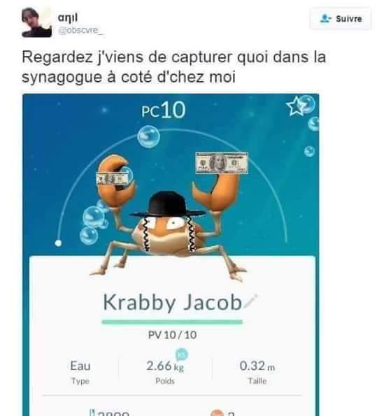 Krabby Jacob - meme