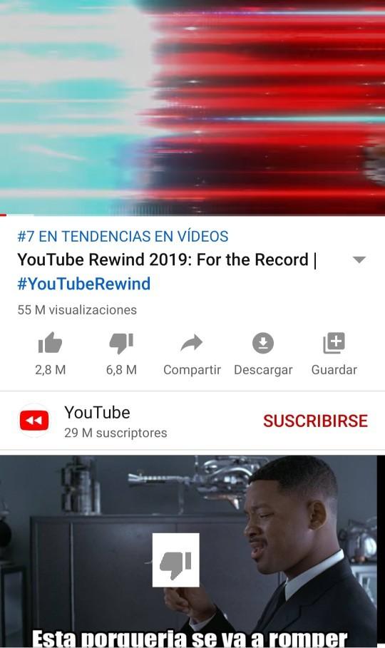 Porque youtube - meme