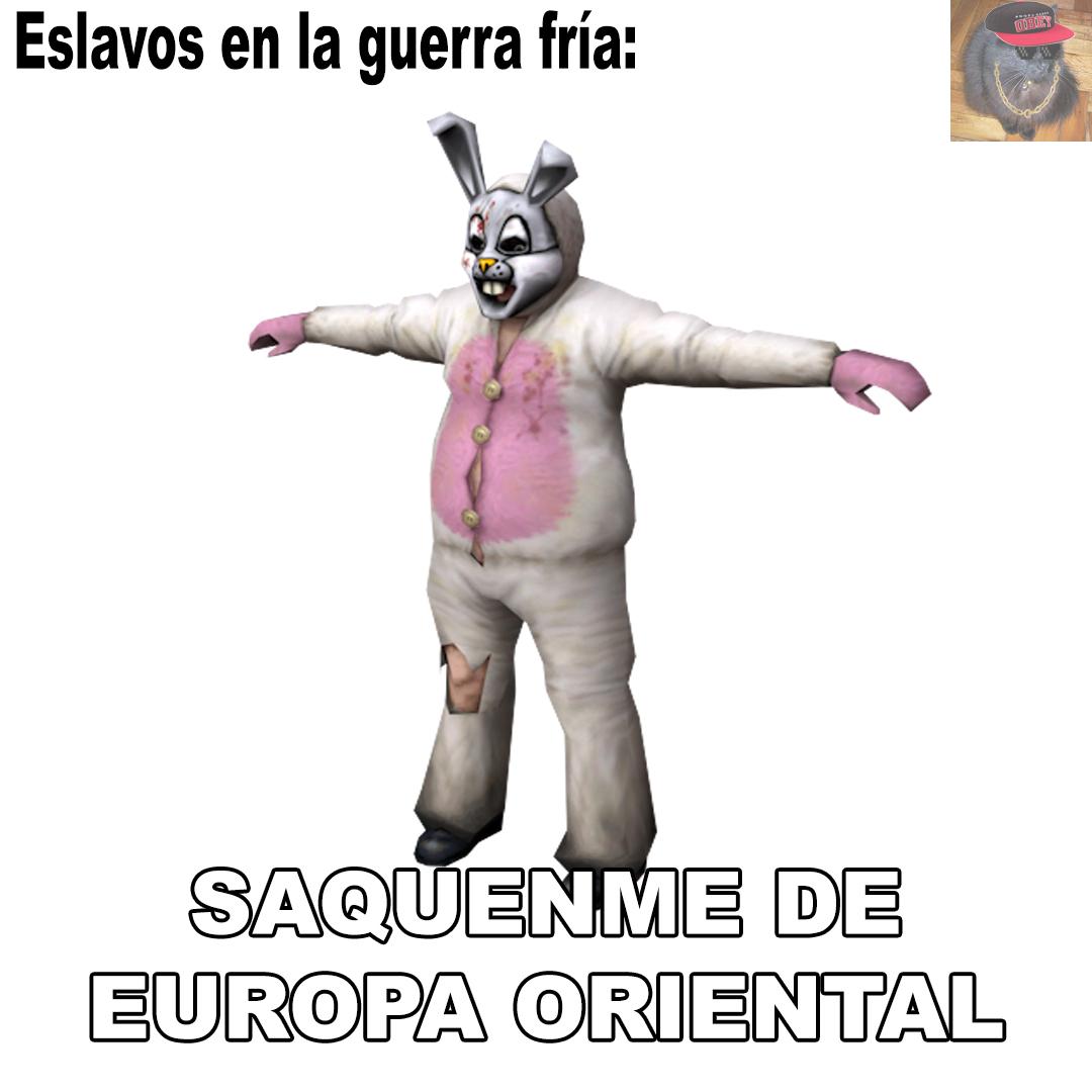 Saquenme de Europa Oriental - meme
