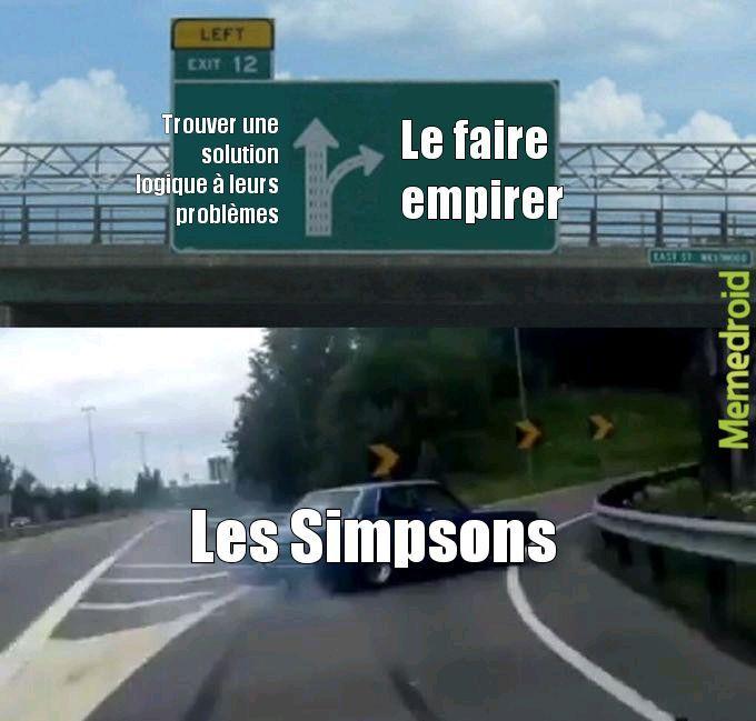 Les Simpsons - meme