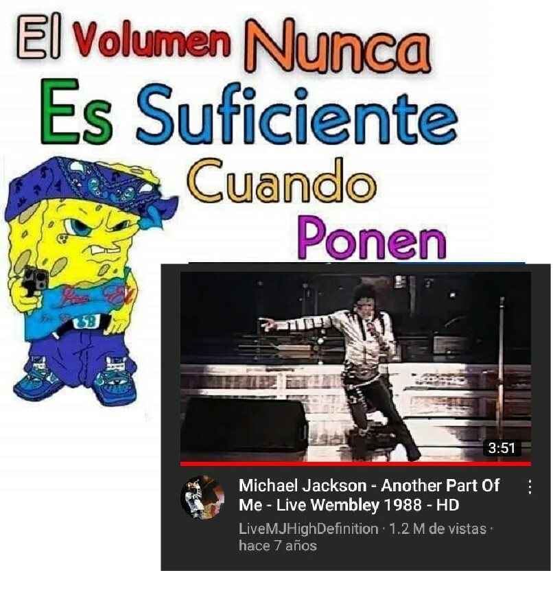 Viva el rey del pop B) - meme