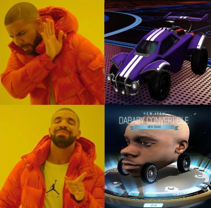 Dababy convertible - meme