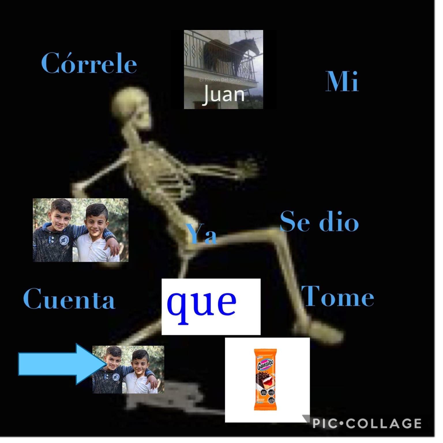 Córrele Juan - meme