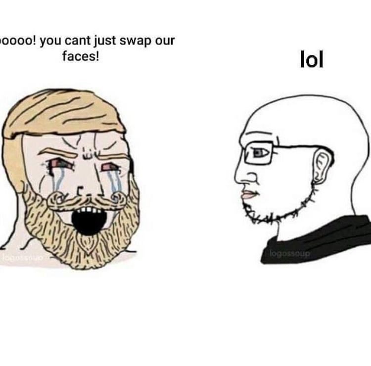 face swap - meme