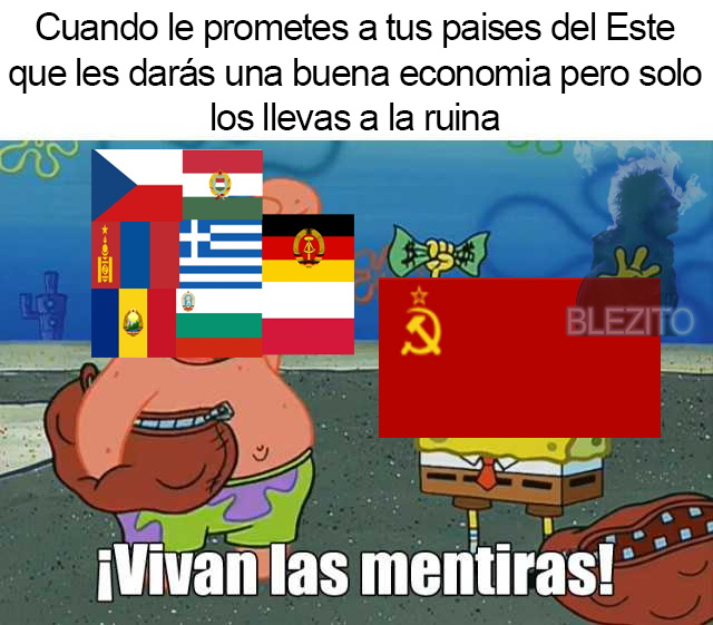 Vivan las mentiras del comunismo xdd - meme