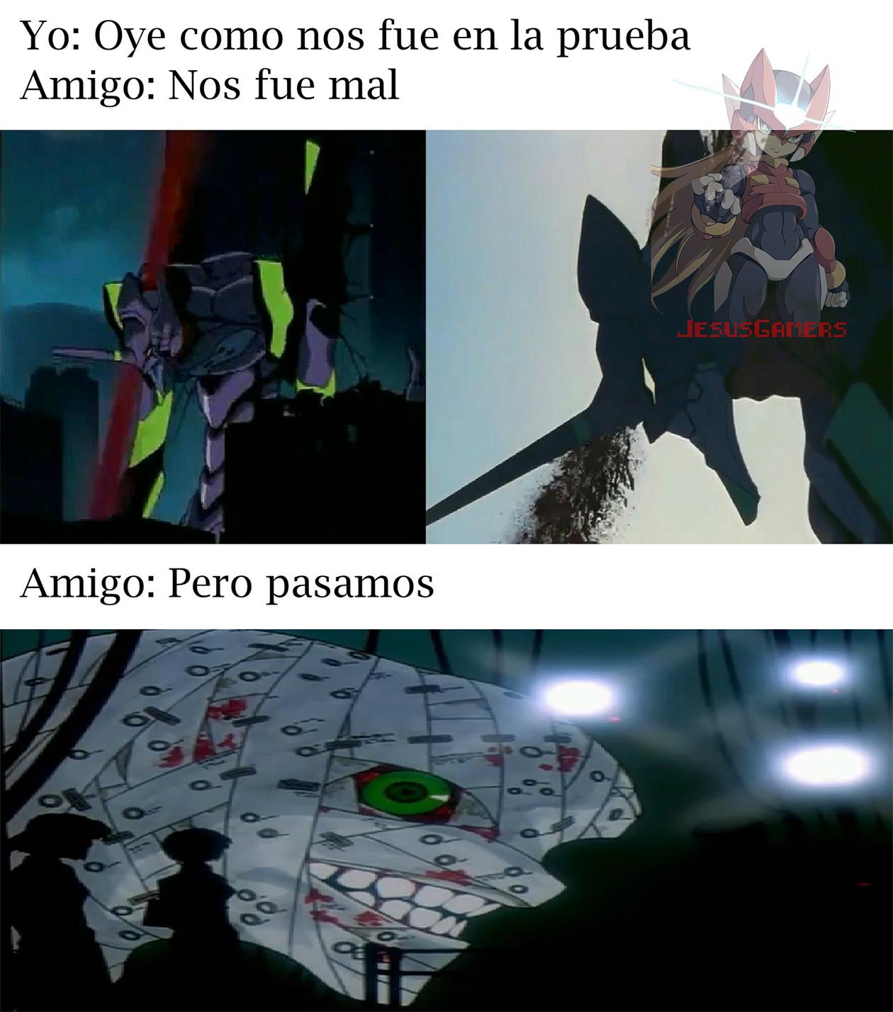 Anime: Neo Genesis Evangelion - meme
