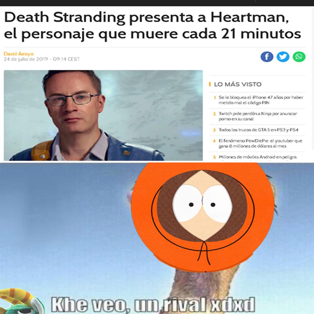 oh dios mio mataron a kenny - meme