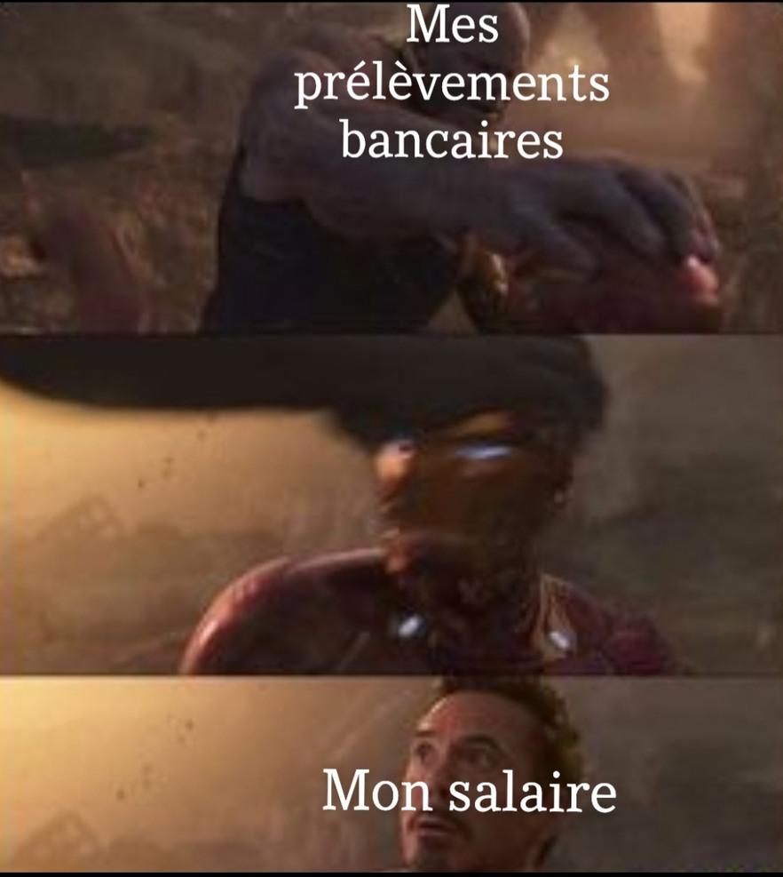 Infinity fauché - meme