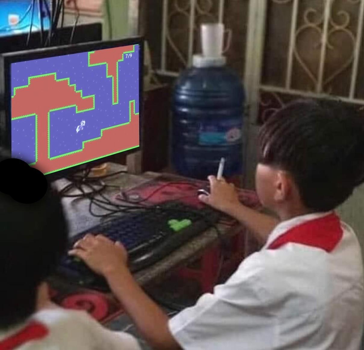 pode jogar sem medo da vírus no pc não - meme