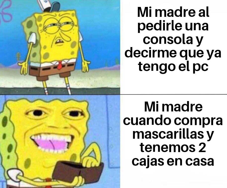 Madres y su logica - meme