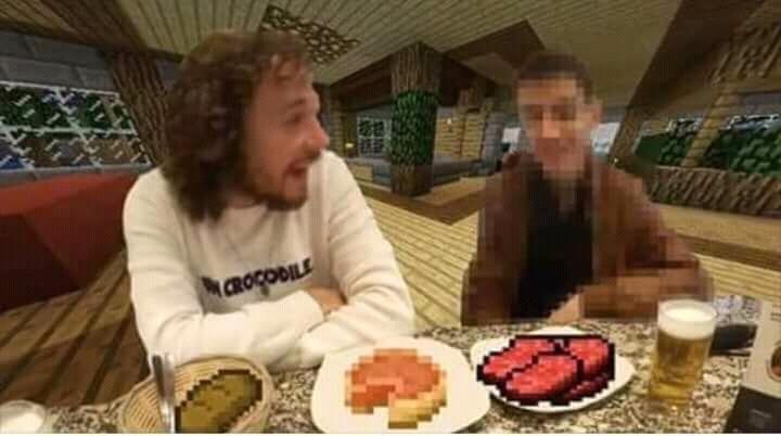 La cena de los dioses - meme