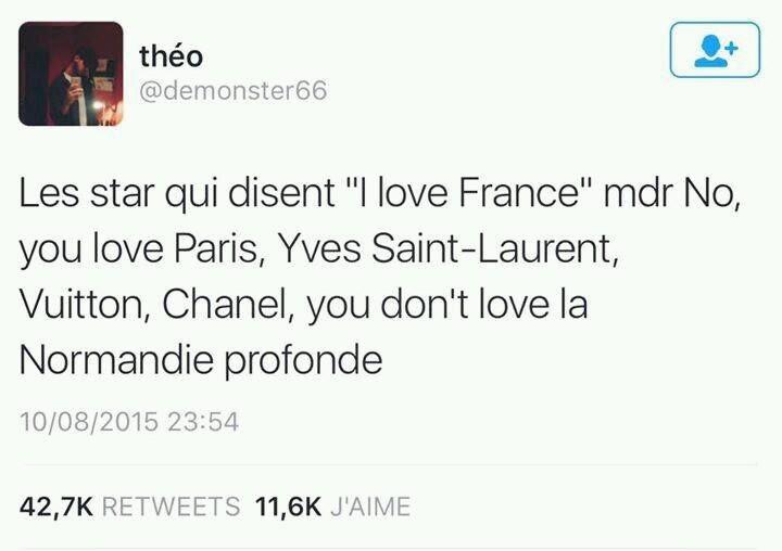 I love FRANCE... Euh... Ah non enfaite - meme