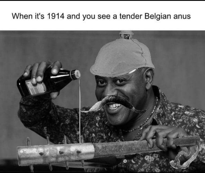 Trench club 1914 - meme