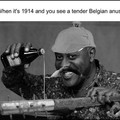 Trench club 1914