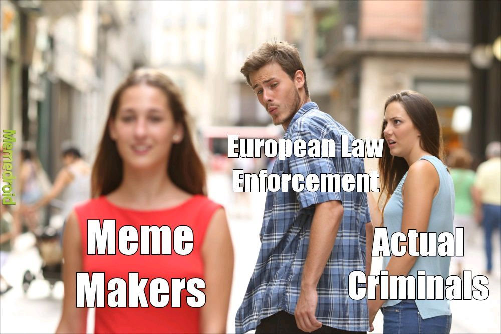 RIP Europe side of the internet - meme