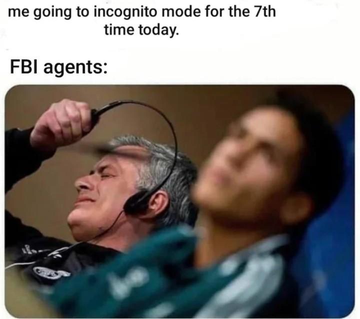 FBI gang wait... - meme