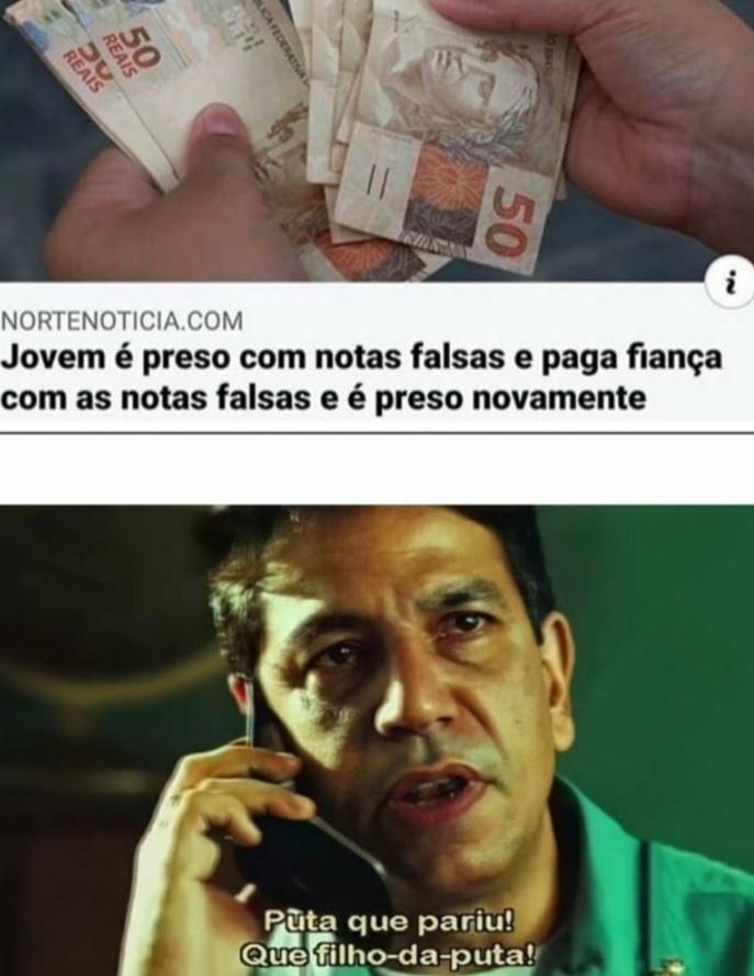 Brasil não é para amadores - meme