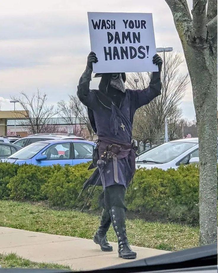 Lavée vous les mains - meme