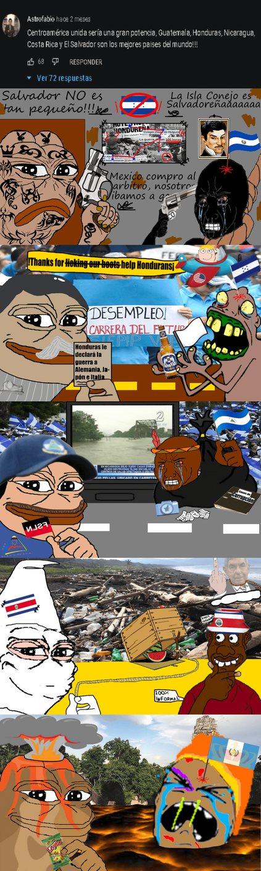 Imagina ser Centroamericano - meme