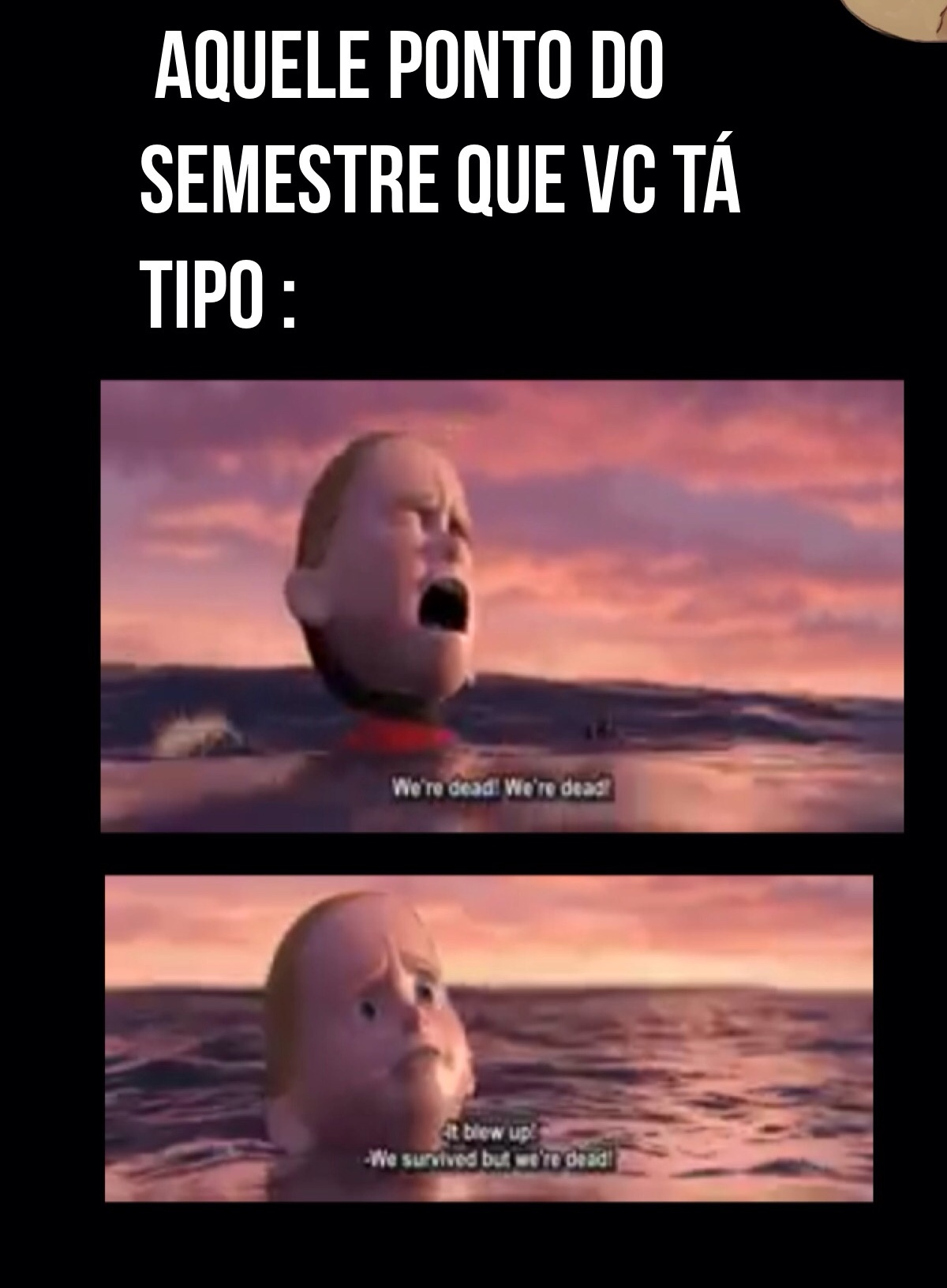 ultimo semestre - meme
