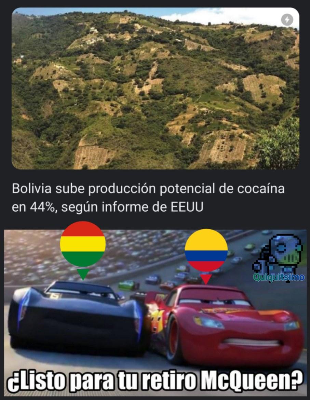 No sé si podamos darle pelea al monopolio de Colombia en el tema de las drogas - meme