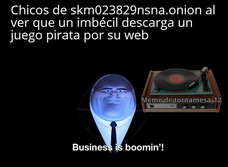 Los .onion son enlaces de la deepweb - meme