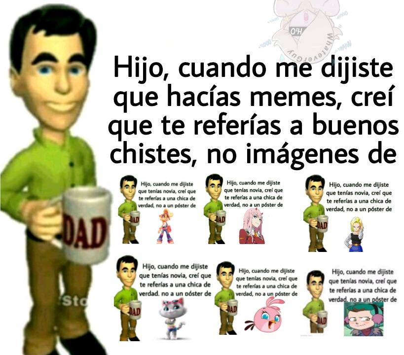 Jalársela con póster de personaje ficticio + Padre decepcionado = cumedia - meme