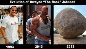 "Grande Dwayne ""piedra"" Johnson - meme"