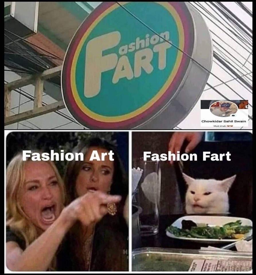 ashion fart - meme