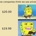 Comment les entreprises crois qu'on voit les prix