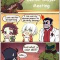 Demon Slayer Meeting