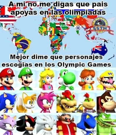 Yo a los 3 erizos Sonic, Shadow y Silver - meme