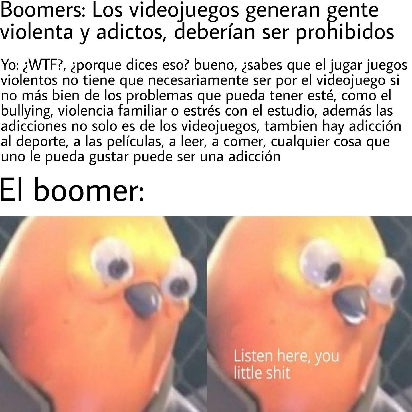 Tmr, los bommers a veces llegan a ser muy moletstos - meme