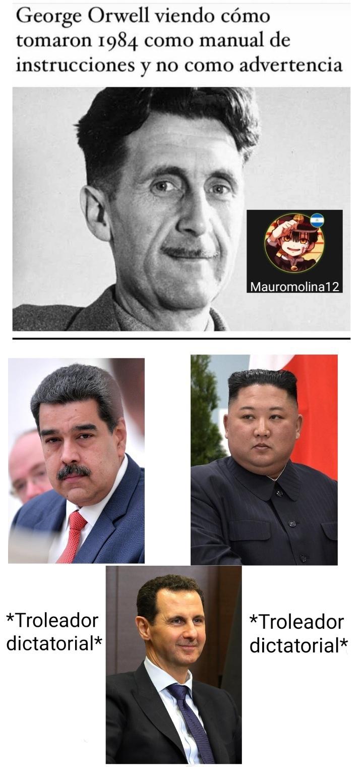 Troleadores dictatorial - meme