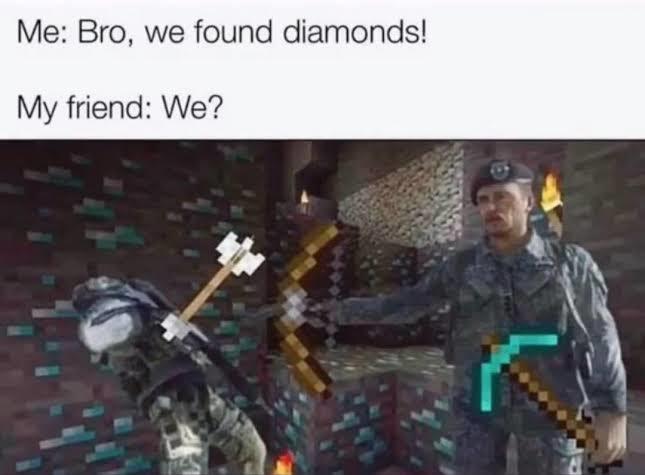 Meme de minascraft desculpa ninjasnow