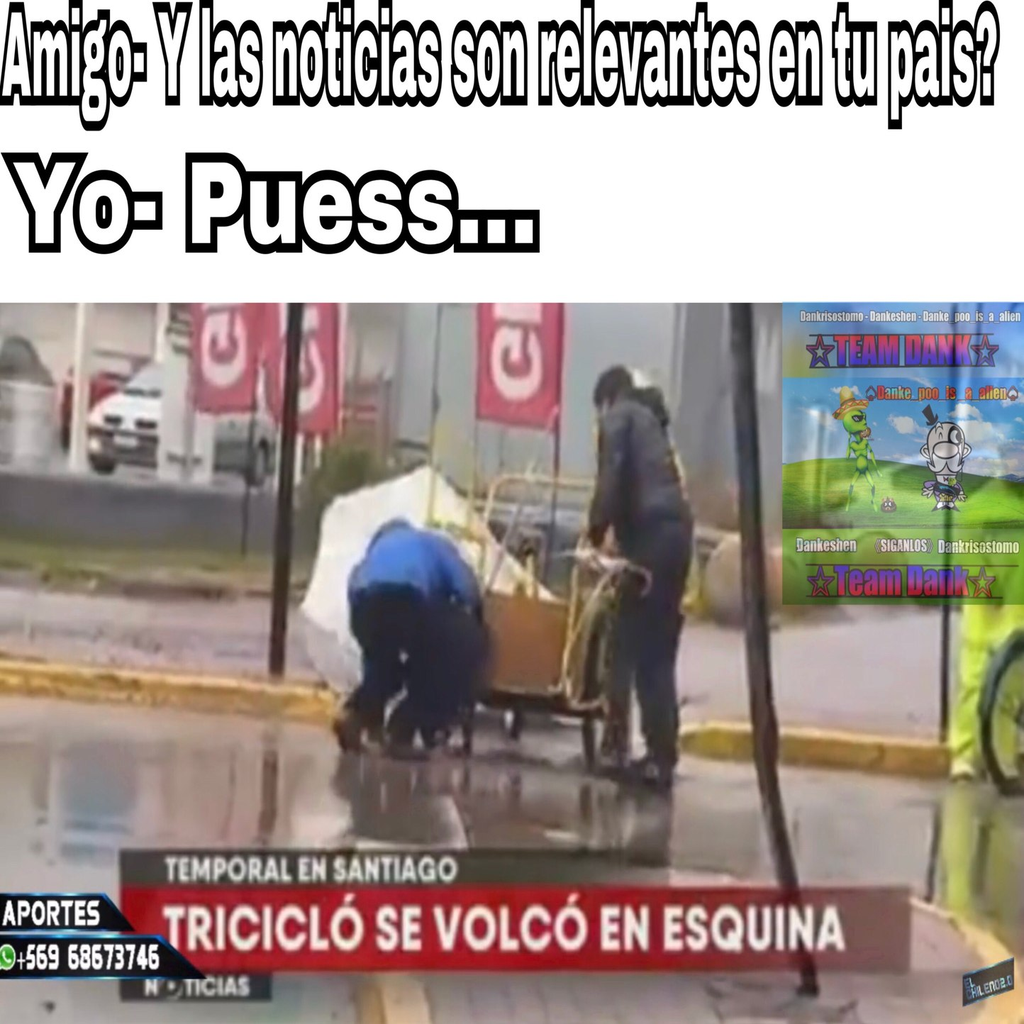 Si... es una noticia real - meme