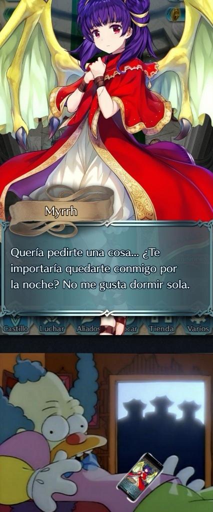 Pero Myrrha esa loli :v - meme